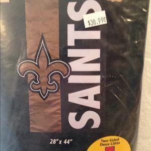 NEW ORLEANS SAINTS NFL HOUSE FLAG